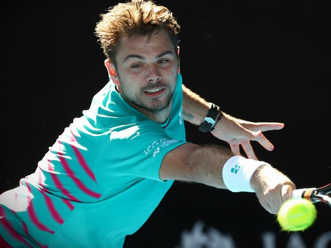 Wawrinka takes on his countryman in the semi-finals.