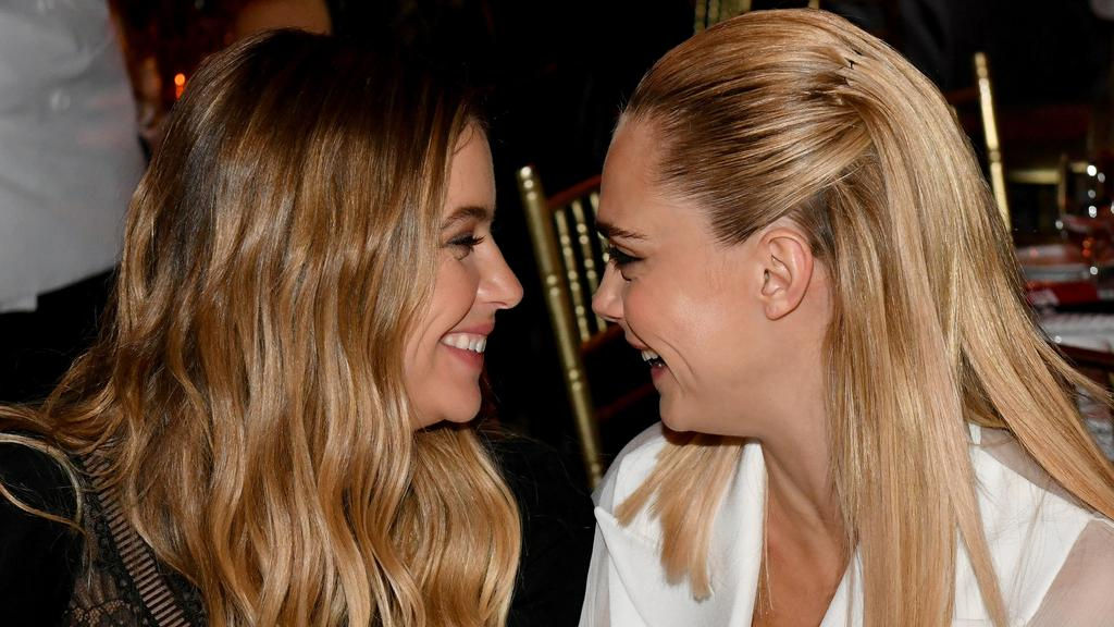 Ashley Benson and Cara Delevingne. Picture: Craig Barritt/Getty Images for The Trevor Project.