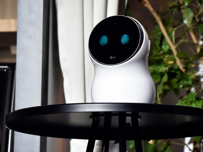 LG Electronics's CLoi robot is designed to control appliances.