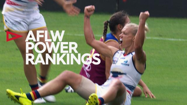 2018 AFLW Power Rankings