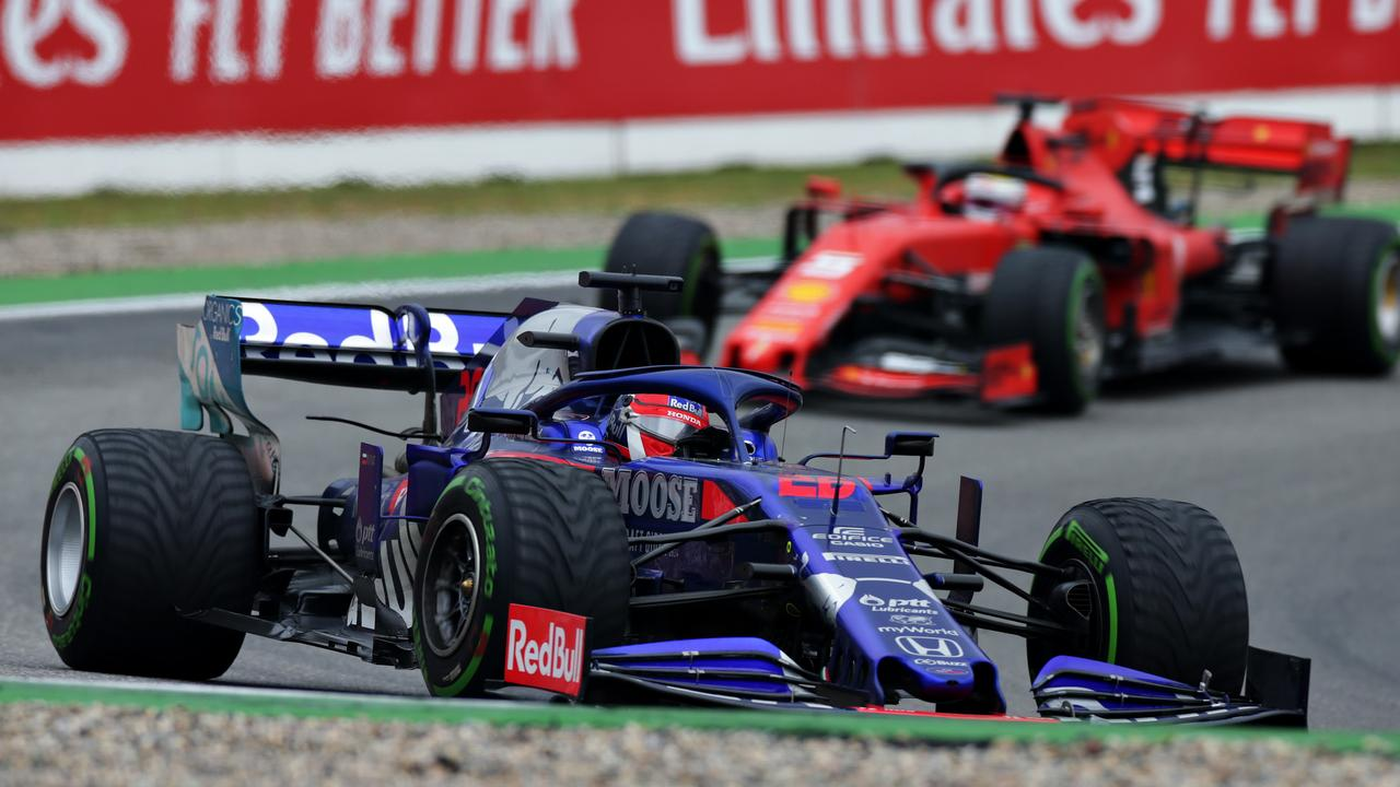 Kvyat and Vettel were both outstanding.