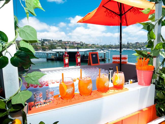 Enjoy a drink with a view at Catalina on New Year's Day. Picture: Supplied