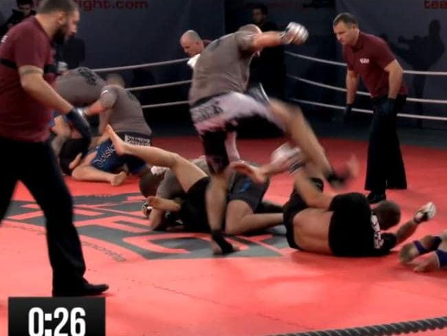 The brutal action from Poland's Team Fighting Championships.
