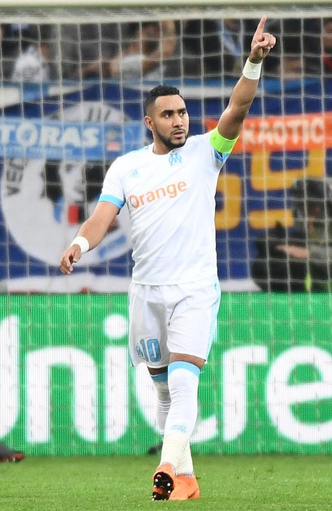 Marseille's French forward Dimitri Payet