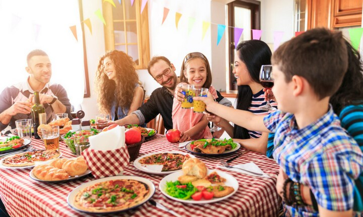 The all-important all-in family dinner. Picture: iStock