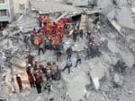 Rescuers in eastern Turkey are searching for survivors following a magnitude 6.8 earthquake.