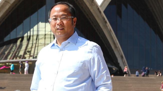 Chinese businessman Huang Xiangmo is living in exile in Hong Kong. Picture: Renee Nowytarger
