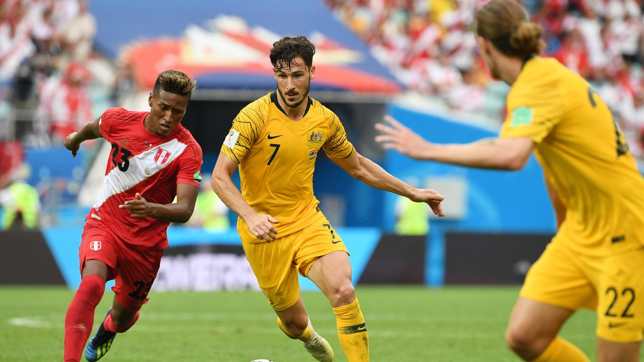 Australia's Mathew Leckie is playing in the Bundesliga once again this season