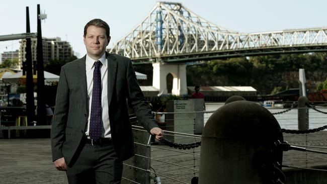 Property Council Queensland executive director Chris Mountford. Picture: Mark Calleja.