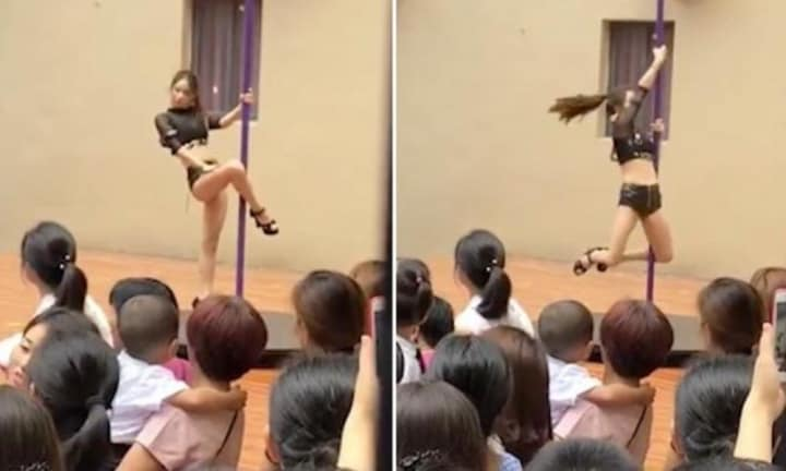 Principal sacked after welcoming kindergarten kids with pole dance routine