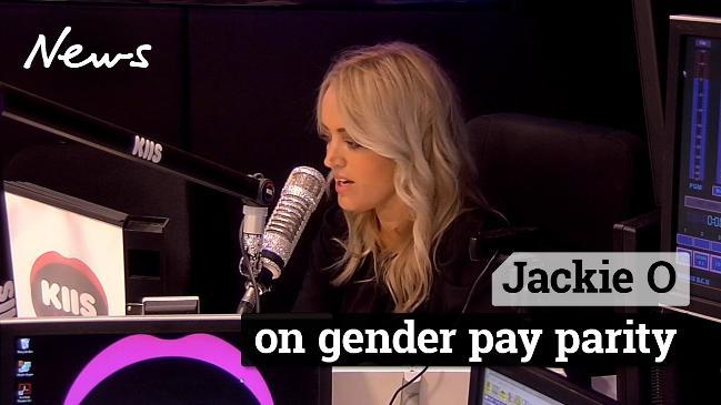 Jackie O on gender pay parity