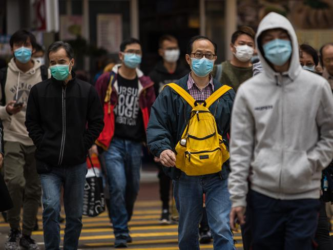 Coronavirus has caused alarm because of its similarity to SARS, which killed hundreds across mainland China and Hong Kong in 2002 and 2003. Picture: Dale De La Rey/AFP