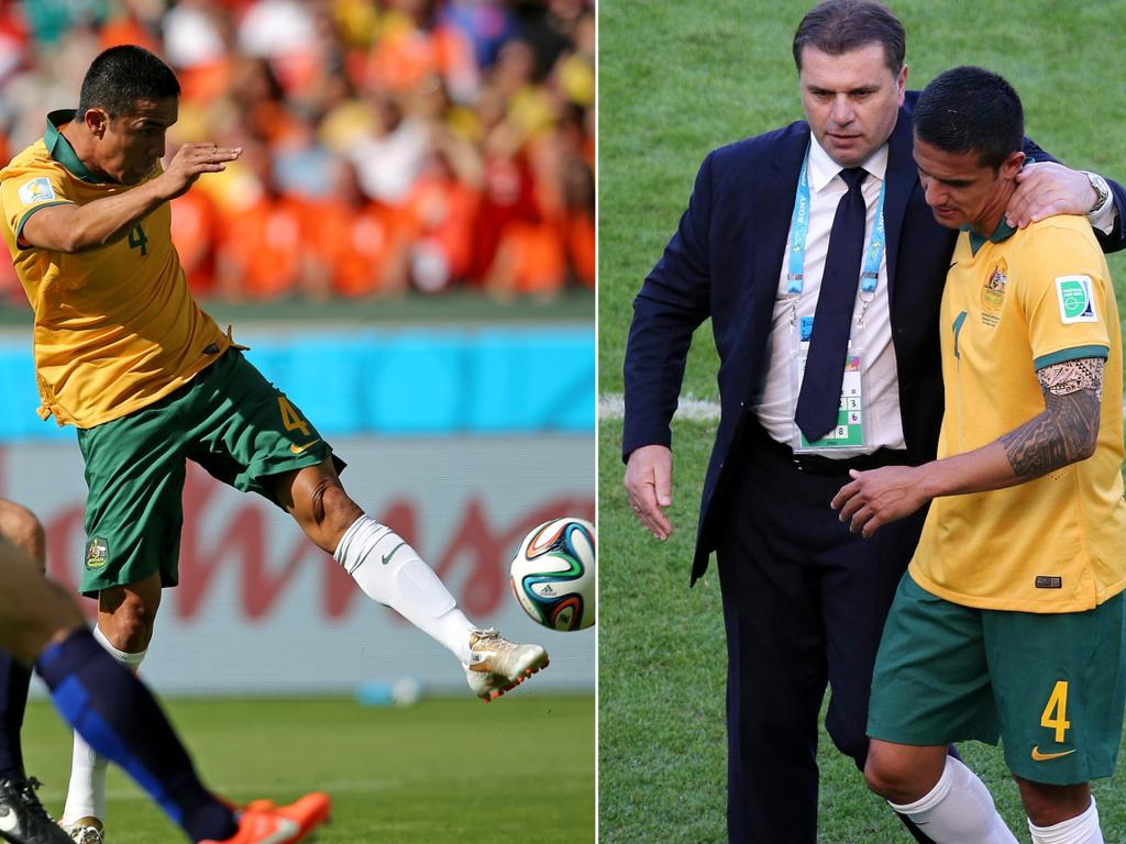 Ryan McGowan reveals Ange's role in Cahill's WC worldie.