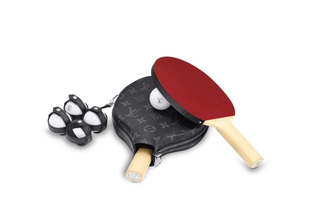 Louis Vuitton is selling a monogrammed ping pong set for $3,211