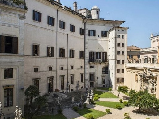Hotel Vilon in Rome, where Prince Harry and Meghan stayed for her designer friend Misha Nonoo's wedding. Picture: Supplied