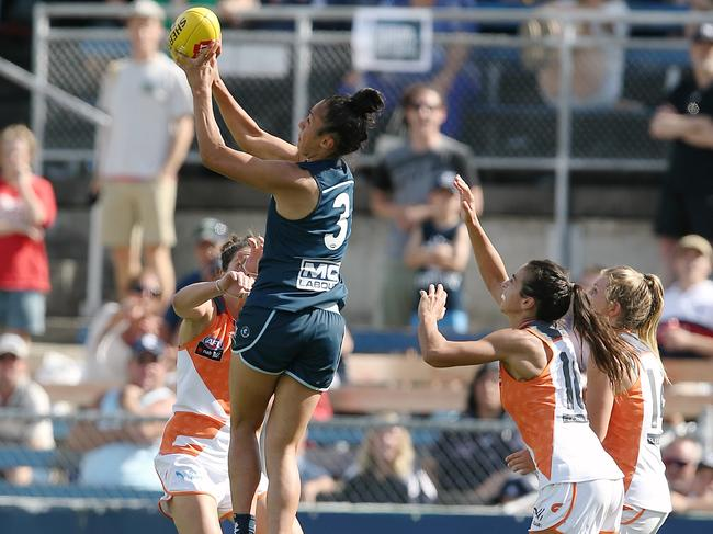 Darcy Vescio has been one of the AFLW's best so far, but is impressed by what's coming next.