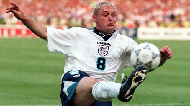 Maybe the Scottish Football Association are still annoyed that Gascoigne scored that famous goal against them at Wembley at Euro 96.