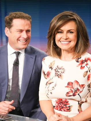 Stefanovic and Wilkinson co-hosted for 10 years. Photo: The Australian