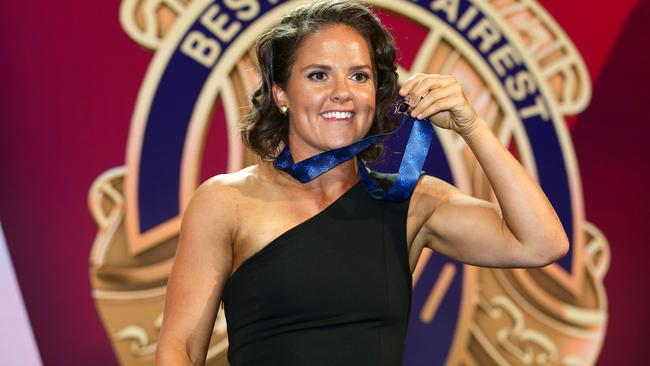 Emma Kearney won last season's AFLW best and fairest. Picture: Andrew Tauber