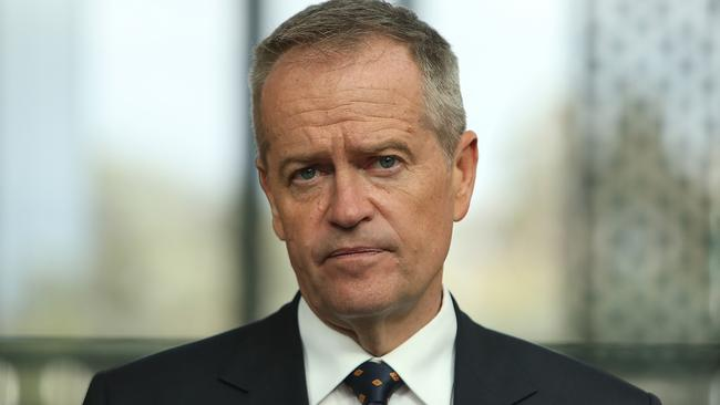 Opposition Leader Bill Shorten has promised $15 million to build a new mental health hub and 25-bed unit in Launceston, if Labor wins the upcoming election. Picture: KYM SMITH