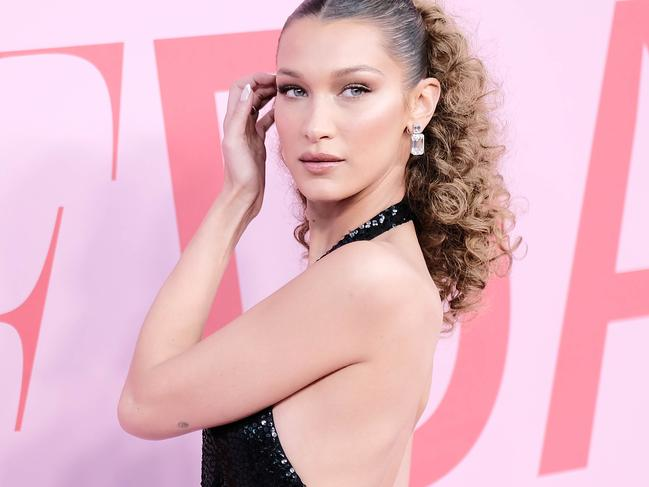 Bella Hadid has been forced to apologise after being accused of racism. Picture: Dimitrios Kambouris/Getty Images