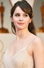 Felicity Jones attends the 89th Annual Academy Awards on February 26, 2017 in Hollywood, California. Picture: Frazer Harrison/Getty Images
