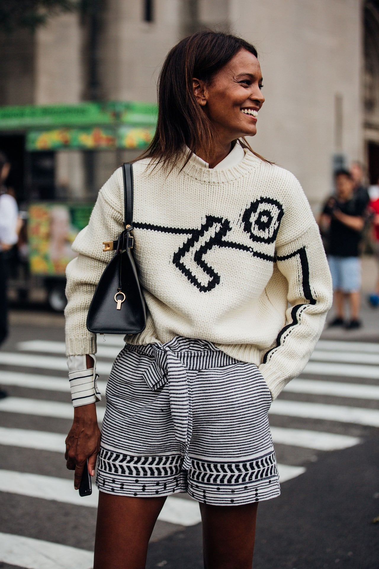How to dress for the in-between weather according to New York's street style set