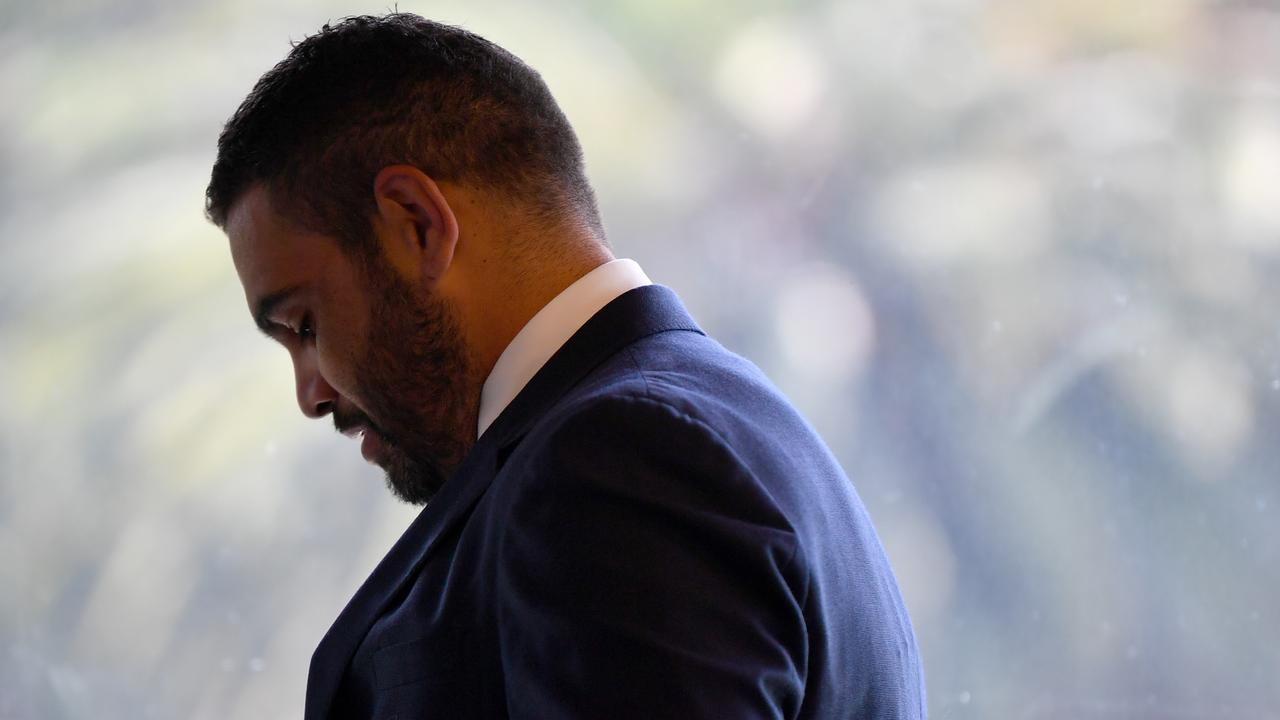 Greg Inglis has revealed an emotional moment with his father ahead of his retirement announcement.