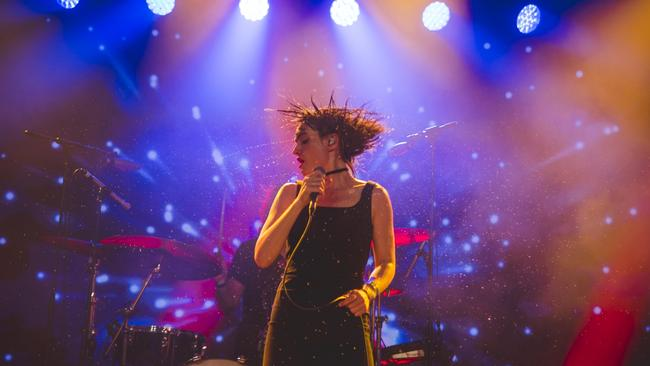 Golden Plains 2018 - The Preatures divided the crowd. Isabella Manfredi did a good Chrissy Amphlett though.