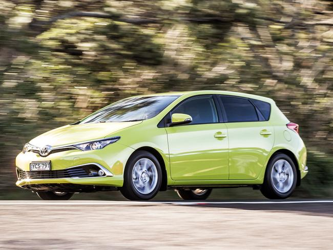 On top ... The Toyota Corolla is still Australia's top selling car year-to-date. Picture: Thomas Wielecki