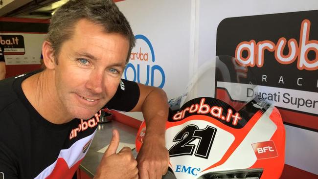 Bayliss will compete at Phillip Island in February.