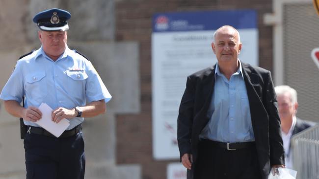 Milton Orkopoulos left Long bay jail last month. Picture John Grainger