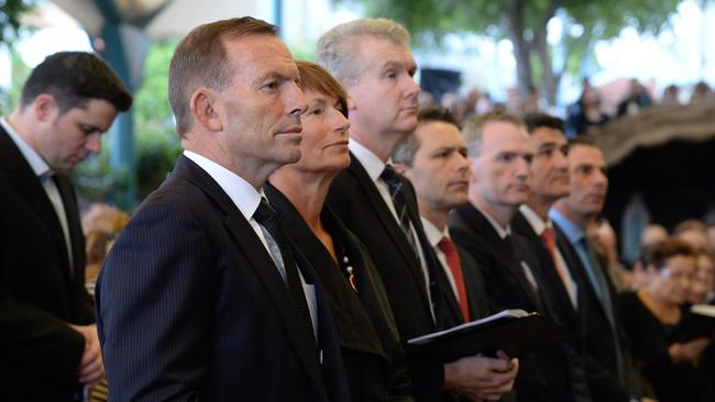Praying for a miracle ... The church hosts a popular Good Friday service with Prime Minister Tony Abbott attending this year.