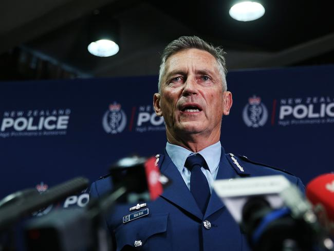 NZ Police Commissioner said three people had been arrested in connection with the terror attacks.