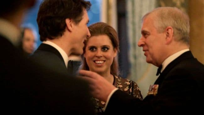 Prince Andrew with his daughter Princess Beatrice. Image: Getty