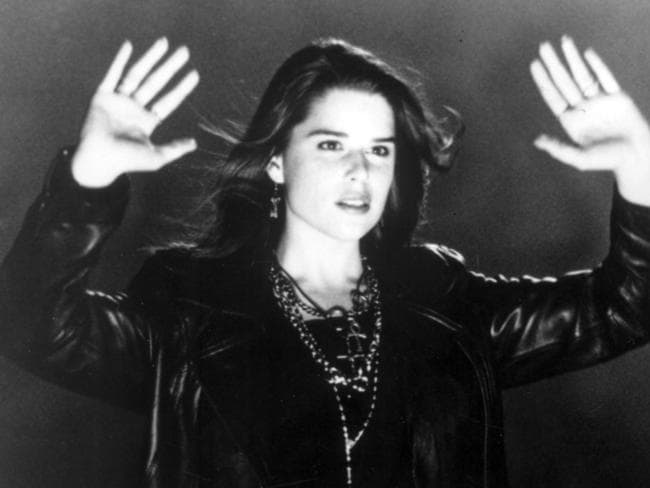 """So mote it be."" Actor Neve Campbell is pictured in scene from  <i>The Craft</i>."