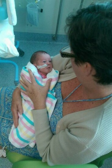 Thankfully, Alex's Mum and Dad were supportive. Image: Supplied