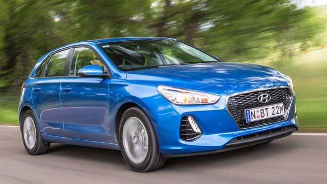 Hyundai i30: Good all-rounder but not a standout.