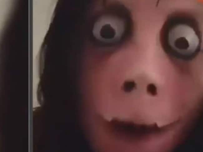 """The """"Momo Challenge"""" is an alleged form of cyberbullying that spreads through social media and cell phones, targeting young children."""