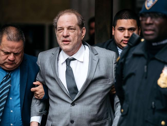 Harvey Weinstein leaves New York City Criminal Court after a bail hearing on December 6, 2019 in New York City. Picture: AFP