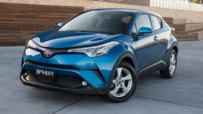 The Toyota C-HR is $3000 more expensive than the Corolla.