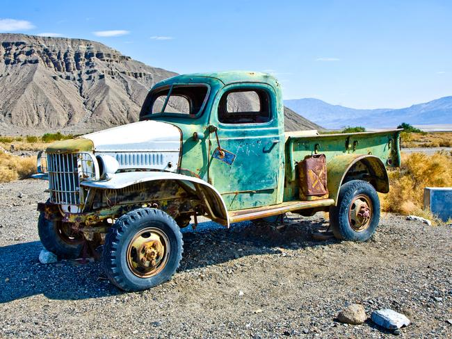 Rock said he owns one of Charles Manson's trucks. Picture: istock