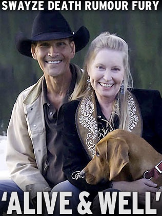 Patrick Swayze 'alive and well' | Daily Telegraph