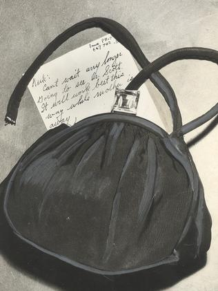 The note addressed to 'Kirk' found in Jean Spangler's purse.