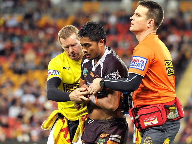 Bronco Anthony Milford needs to be traded out, following a shoulder dislocation.