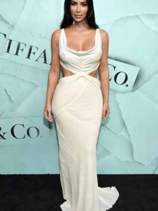 Kim Kardashian has lost nine kilos in the last 12 months Source:AP