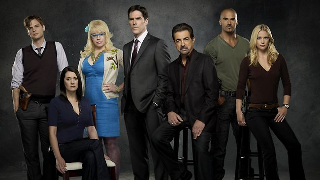 The cast of hit Channel 7 show Criminal Minds. Picture: Supplied
