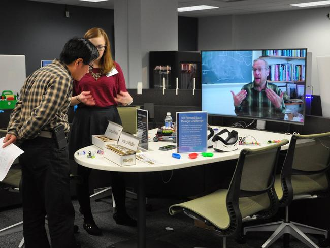 At the Dreamery learning space, the latest technology is always available. Picture: Penn State Teaching and Learning Technology/Facebook