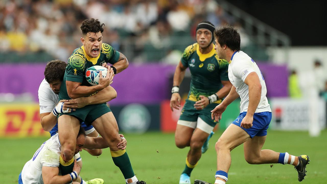 Matt To'omua is the third Wallaby to wear the No 10 jersey at the 2019 World Cup.