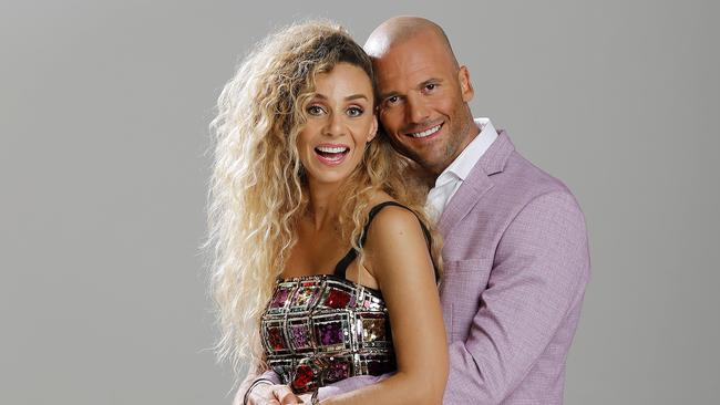 Married At First Sight couple Heidi Latchman and Mike Gunner.